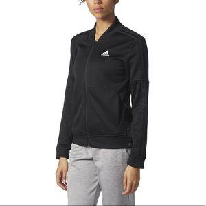 Adidas 3 Stripe Track Jacket Black